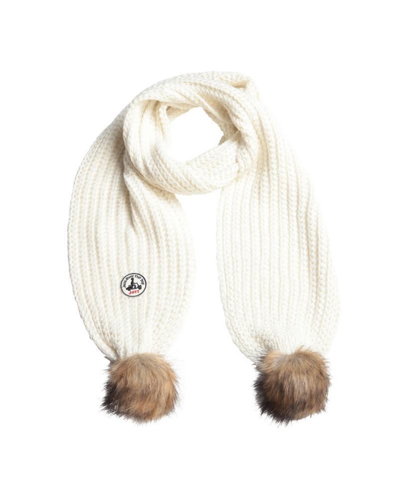 Acheter Jott ECHARPE VANCOUVERT LUREX Accessoire Femme 901-BLANC - 3931VAL-901-BLANC