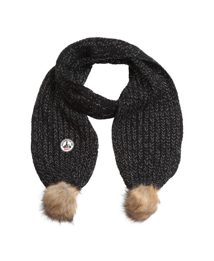 Acheter Jott ECHARPE VANCOUVERT LUREX Accessoire Femme 999-NOIR - 3931VAL-999-NOIR