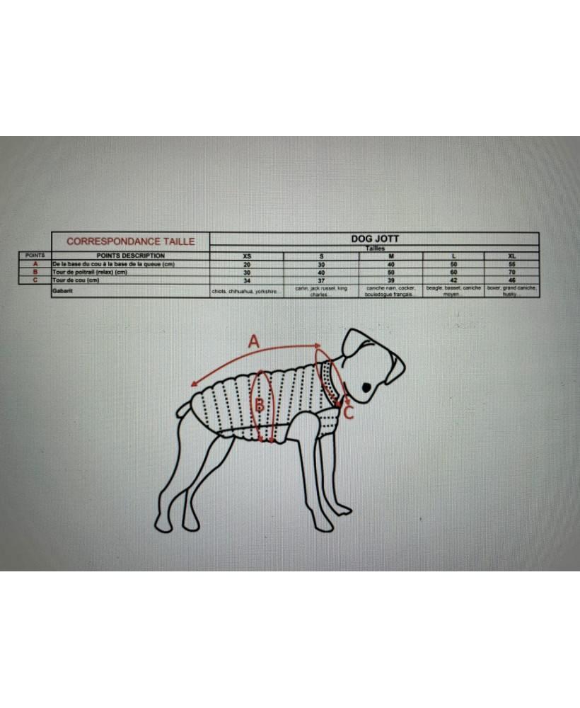 Acheter Jott Doudoune pour Chien DOG Basic 300-ROUGE - 1900DOG-300-ROUGE chez Vertigo